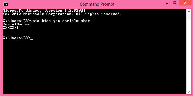 How to Locate your System Service Tag Using Command Prompt