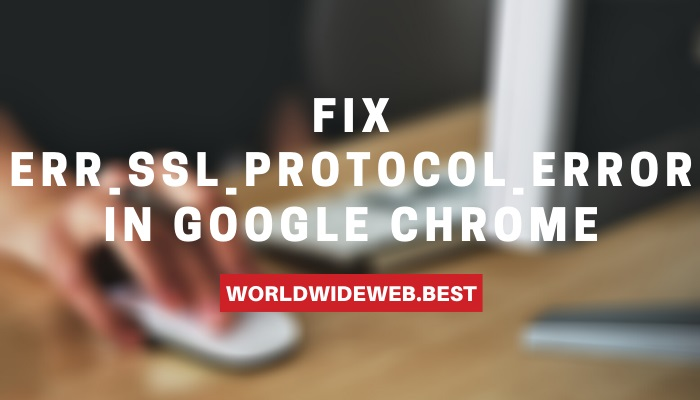 ERR_SSL_PROTOCOL_ERROR in Chrome